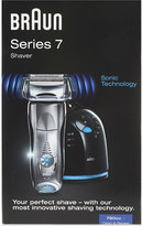 Braun Series 7 shaver with Clean & Renew