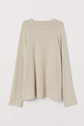 H&M H&M+ Stand-up collar top