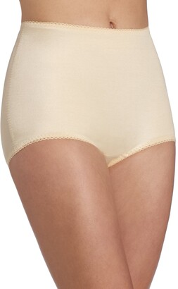 Rago Shapewear Women's Plus-Size Control Panty Brief