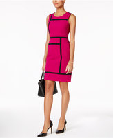 Nine West Colorblocked Sheath Dress