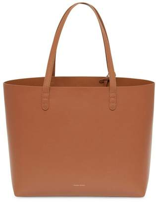 Mansur Gavriel Calf Large Tote - Saddle