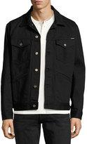 Tom Ford Classic Western Denim Jacket, Worn Black