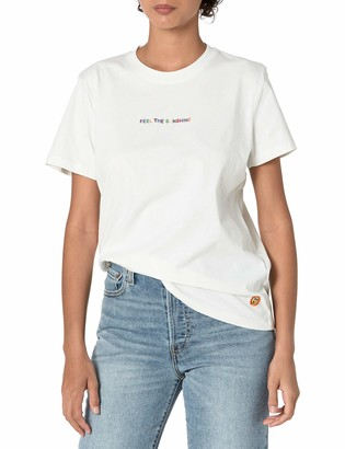 French Connection Women's Sunshine Embroidered t-Shirt