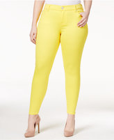 Plus Size Colored Skinny Jeans - ShopStyle