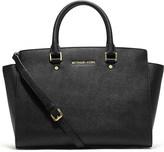 MICHAEL Michael Kors Selma large Saffiano leather satchel