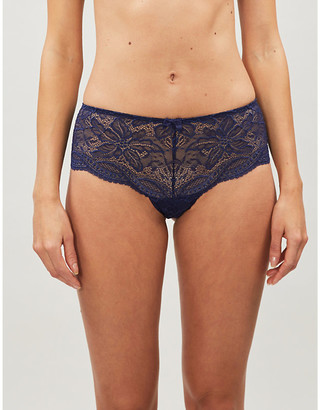 Simone Perele Eden Chic lace shorty briefs