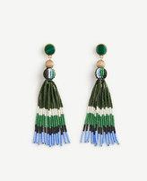 Ann Taylor Variegated Seed Tassel Earrings