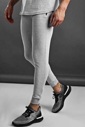 boohoo Skinny Fit Active Gym Joggers With Zip Pockets