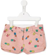 Stella McCartney pineapple print Emma shorts - kids - Cotton/Spandex/Elastane - 2 yrs
