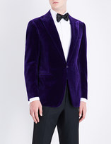 Ralph Lauren Purple Label Slim-fit velvet jacket