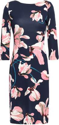 Erdem Floral-print Ponte Mini Dress