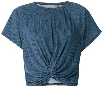 Track & Field Frequencia Performance cropped blouse