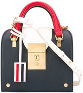 Thom Browne colour block crossbody bag - women - Leather - One Size