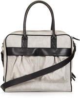 Topshop Snake patch pocket luggage bag