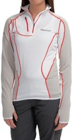 Marmot Thermo Polartec® Power Dry® Shirt - Zip Neck, Long Sleeve (For Women)