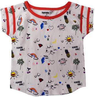 KensieGirl Raglan Retro Jersey T-Shirt