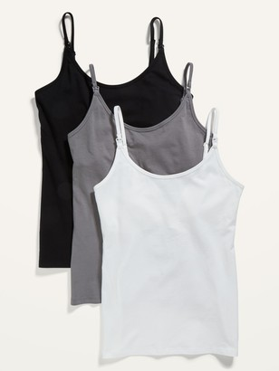 Old Navy Maternity First Layer Nursing Cami Top 3-Pack