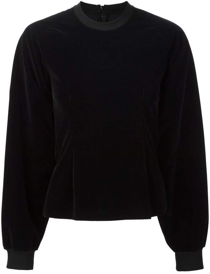 MM6 MAISON MARGIELA round neck longsleeved sweatshirt