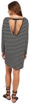 Culture Phit Vienna 3/4 Sleeve Striped Dress