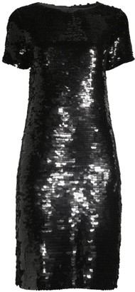 Lafayette 148 New York Cassia Sequin Shift Dress