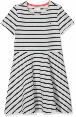 Tommy Hilfiger Girl's Sparkle Knit Dress S/s