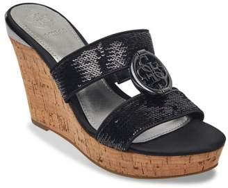 GUESS Beanca Wedge Sandal
