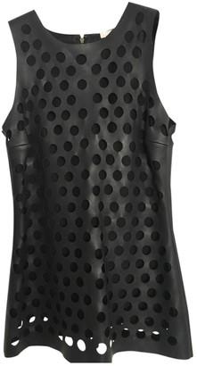 Cushnie Black Leather Top for Women