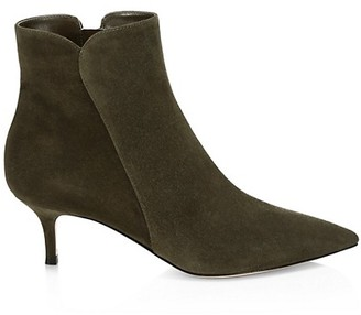 Gianvito Rossi Levy Suede Ankle Boots
