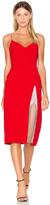 CHRISTOPHER ESBER Ribeiro Crystal Slit Dress