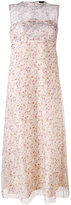 Calvin Klein Collection floral print dress - women - Silk - 40