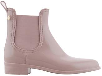 Lemon Jelly Comfy Patent Chelsea Wellington Boots