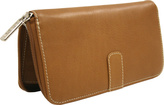 Piel Women's Leather Zip Around Wallet 2672