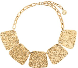 Susan Caplan Vintage 1980s gold-plated Ben Amun necklace
