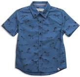 Sovereign Code Boys' La Harpe Dinosaur Print Button-Down Shirt