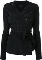 Isabel Marant wrap blouse - women - Silk - 38