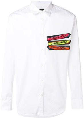 DSQUARED2 logo shirt