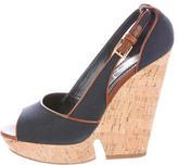 Saint Laurent Deauville 105 Wedge Sandals
