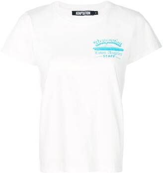 Adaptation round neck T-shirt