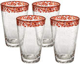 Artland Mingle Set Of 4 Tumblers