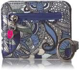 Sakroots Carryall Card Case Wallet, Black and White Spirit Desert