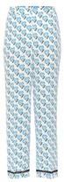 Prada Printed Silk Trousers