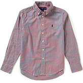 Ralph Lauren Big Boys 8-20 Plaid Oxford Shirt