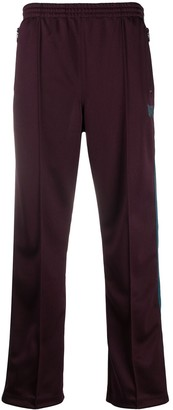 Needles High-Waisted Straight Leg Track Trousers