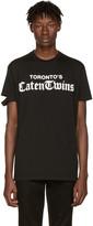 DSQUARED2 Black toronto Caten Twins T-shirt