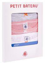 Petit Bateau Cotton Bow Detail Vests (Pack of 3)
