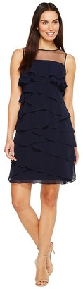 Adrianna Papell Women's Tiered Cocktail Dress
