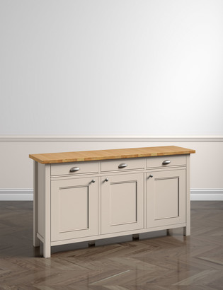 Marks and Spencer Padstow Putty 3 Door Sideboard