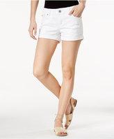 Vanilla Star Juniors' Ripped Anna Wash Denim Shorts