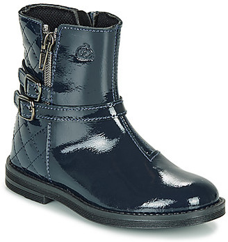 Citrouille et Compagnie LIMIDOU girls's Mid Boots in Blue