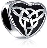 Bling Jewelry Celtic Knot Triquetra Heart Charm Fits Pandora 925 Silver